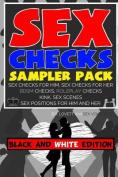 Sex Checks Sampler Pack Black and White Edition