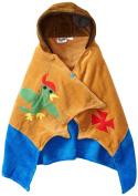 Kidorable Pirate Toddler Towel, Brown, Medium, 3-6 Years