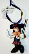 Disney Park Minnie Mouse Tour Guide Figurine Christmas Ornament Holiday