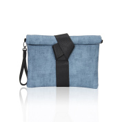 Hynes Victory Chic Clutches for Women Textured Envelope Clutch Purse with Strap