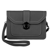 MINICAT Classic Envelope Style PU Leather Small Crossbody Cell Phone Wallet Purse Bag For Women