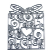 JOYSDIY Love Heart Bow Gift Box Metal Die Cutting Stencil for DIY Scrapbook Album Paper Card Maker