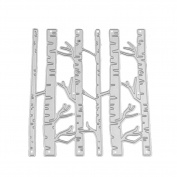 Enipate Birch Branches Forest Tree Scrapbook DIY Album Card Paper Card Maker Metal Die Cut Stencil Decoration Die Cutting Template