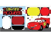 """""""Lightning McQueen"""" ASSEMBLED Scrapbook Page"""