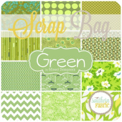 Green Scrap Bag (GR.SB) by Mixed Designers for Southern Fabric