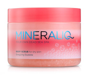 Mineral Care Dead Sea MINERALIQ Body Scrub for Dry Skin - Energising Guarana