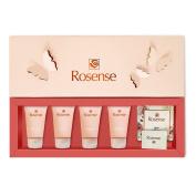 Rosense Rose Bath and Body Gift Set / Spa Set - Travel Size