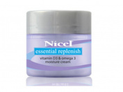 Nicel Essential Replenish Facial Moisture Cream Vitamin D3 and Omega-3