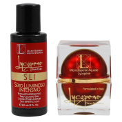 Combination of Lycopene Crema Rinnovante & SLI Face Exfoilator Serum