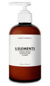 5 Elements Cleanser - Glycolic Acid & Coconut Derived Face & Body Wash for Blemished Skin by Create Cosmetics - 240ml