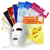SHILLS Facial Mask Sheet Pack of 10pcs