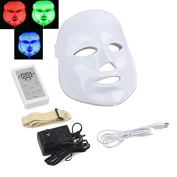 Hommii 3 Colour LED Mask Photon Light Skin Rejuvenation Therapy Facial Mask Photon Photodynamics PDT Beauty Facial Peels Machine Daily Skin Care Home