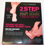 Beauty Concepts 2 Step Total Repair Foot Mask Treatment