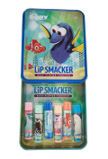 Disney Finding Dory Lip Balm Lip Smackers For Girls, 6 pack with Decorative Tin Gift Pack