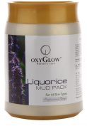 OXYGLOW Nature's Care LIQUORICE MUD PACK For All Skin Types 500 g
