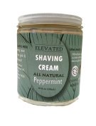 TAYLOR'S All Natural Women's Shaving Cream | Aluminium Free • Paraben Free • Plastic Free | Glass Jar - Made in the USA!