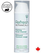Organic Botanical Foaming Facial Cleanser 150ml-- Pore Minimizer, Anti Wrinkle, Anti Acne & Ageing Natural Foaming Face Wash, Nourishes, Deep Conditions, Removes Impurities -- Refresh all kind of Skin