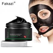 OVERMAL 120g Black Mud Deep Cleansing Pilaten Blackhead Remover Purifying Peel Face Mask