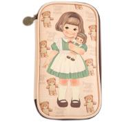 Afrocat Paper Doll Mate Multi Pen Pouch Ver 3 Women Beauty Pens Bag