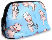 Liquorbrand Kewie Doll Tattooed Baby Cosmetic Make-up Vegan Travel Bag Pouch
