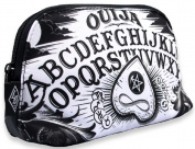 Liquorbrand Ouija Board Halloween Goth Unisex Cosmetic Make-up Shave Bag Pouch