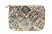 Stephanie Johnson Istanbul Grey Large Flat Pouch