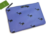 Kate Spade Off We Go Blue Whale Gia Cosmetic Pouch