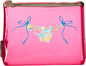 Lilly Pulitzer Women's Medium Beach Pouch Dragonfruit
