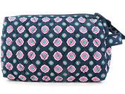 Vera Bradley Large Cosmetic Bag in Petal Dots