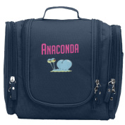 Travel Toiletry Bags Anaconda Washable Bathroom Storage Hanging Cosmetic/Grooming Bag For Household Business Vacation, Multi Compartments, Waterproof Lining