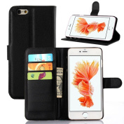 For iphone 6/6s Case,HP95(TM) Luxury Leather Flip Wallet with Stand Case Cover For iPhone 6s Plus 14cm