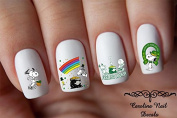 Snoopy St. Patrick's Day Nail Art Decal