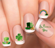 St. Patrick's Day Design #1 Patty Day Nail Art Decal