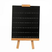 DDLBiz Nail Colour Display Shelf Display Board 90 Colour Nail Display Shelf Polish Frame