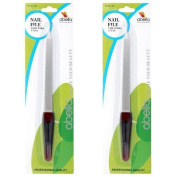 NAIL FILE WITH PLASTIC HANDLE, Case of 480