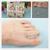 Liroyal 1 Pair Gel Toe Separators Stretchers Bunion Spacers Straightener