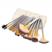 BeautyGal 18pcs Professional Makeup Brushes Set Powder Foundation Concealer Multifunction Cosmetic Brushes