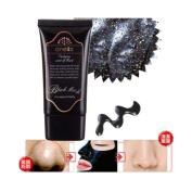 Blackhead Mask, RIUDA Mud Nose Blackhead Remover/Cleansing Peel Off Removal Mask/Black Mud Face Mask