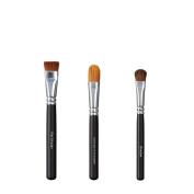 VEGAN LOVE Flat Shader Ultimate Concealer Brush Trio, Shadow