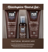 ManCave Blackspice Beard Care Product Set