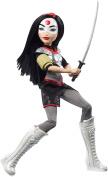 DC Super Hero Girls Katana Action Doll, 30cm