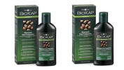 biosline - biokap Shampoo Frequent Use 2 Packs x 200 ml, Soothing, Hydrating, dermopurificante