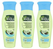 Shampoo VATIKA COCONUT Tropical - 3 X 200 ml