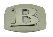 Western Belt Buckle Initial B Letter American Alphabet Monogram Cowboy New Rodeo