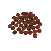 NUOLUX 4-hole Wooden Sewing Buttons 50pcs
