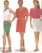 Gitano peasant blouse, tops, shorts - McCall's vintage sewing pattern 6550 - Size XS-S-M