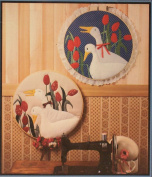 Geese In A Garden Applique and Hoop Art Craft Pattern