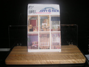 WINDOW TREATMENT, ABBIES JIFFY SIX PACK, SIMPLICITY 8837