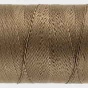 WonderFil Specialty Threads Konfetti Thread Brown, 50wt double gassed Egyptian cotton