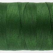 WonderFil Specialty Threads Konfetti Thread Dark Xmas Green, 50wt double gassed Egyptian cotton